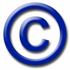 copyright-symbol blue