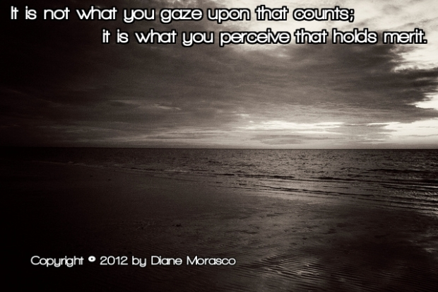 Perceive quote Diane Morasco