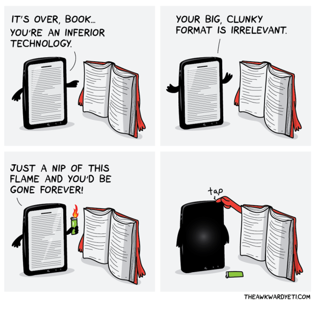 Book and device