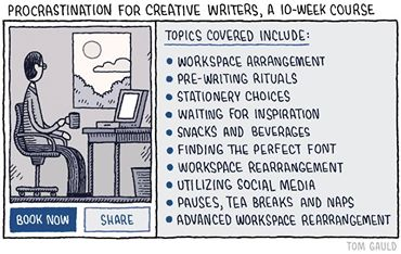 Writers Procrastination for Creative Writers